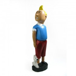 Statuette colon Tintin &...